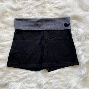 Victoria's Secret Cotton Foldover Yoga Shorts